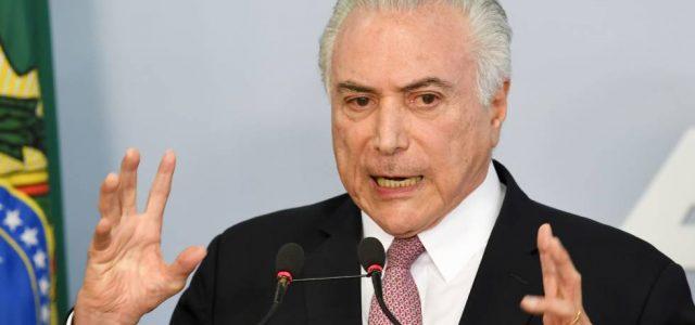 """Brasil – Califican a Temer de """"ladrón general de la República"""""""