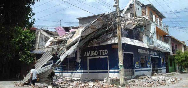 México –La gente que el terremoto movió