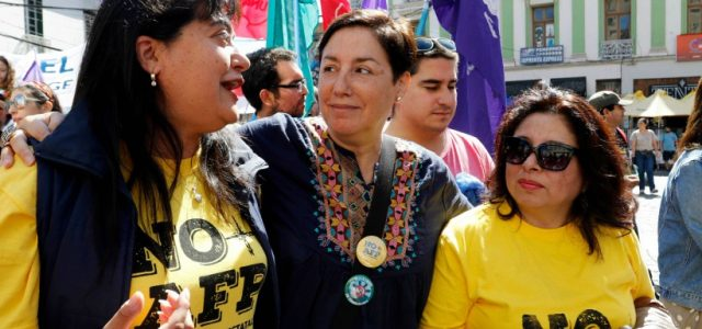Chile – NO mas AFP – Franja Beatriz Sanchez