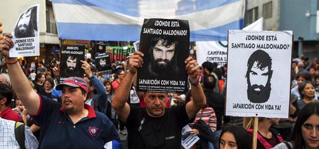 """Argentina – """"Nunca se rindan"""": La emotiva carta de Bono a la familia de Santiago Maldonado"""