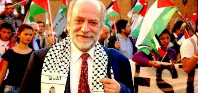 En Buenos Aires, Argentina con Rafael Araya Masry de la Confederación Palestina Latinoamericana y del Caribe