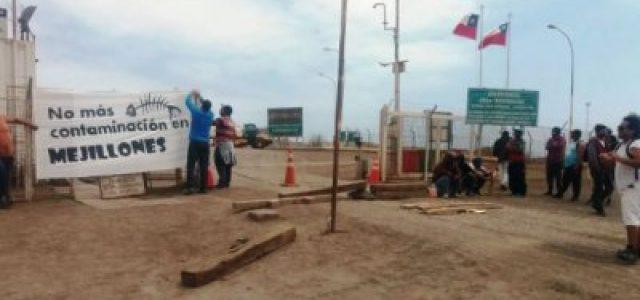 Chile – Minera de Grupo Luksic denunciada en Fiscalía por derrame de ácido sulfúrico en puerto de Mejillones