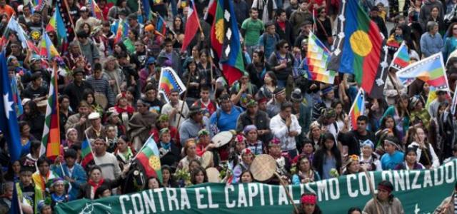 Carta de los indios a los Caciques del $hilean way. Narcisismo, malinchismo y cipayismo