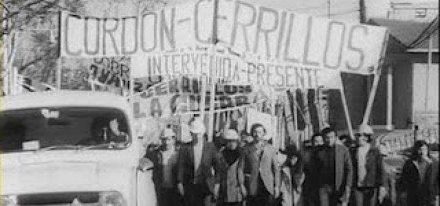 Invitación: Los Cordones Industriales y las luchas del Poder Popular 1972-1973