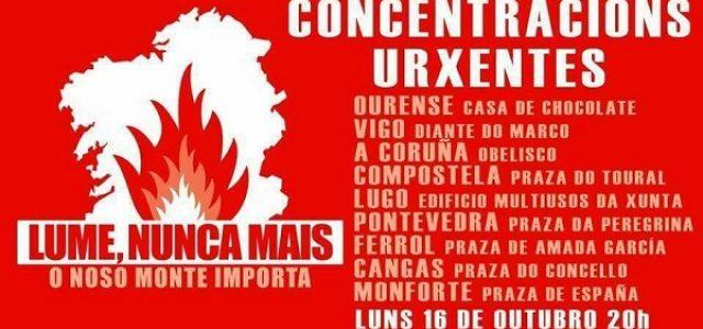 Estado Español – Los recortes y la privatización queman Galiza: PP responsable.