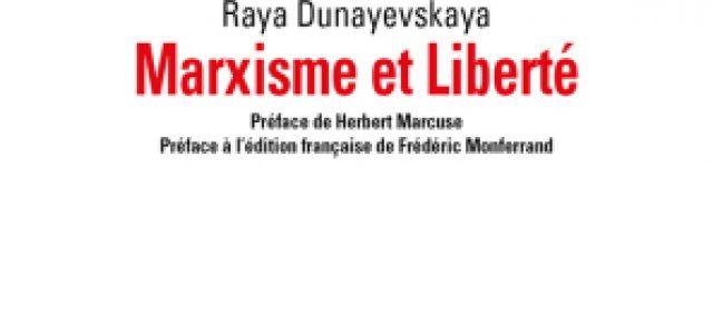 """""""Raya Dunayevskaya: Un marxismo de la liberación"""""""