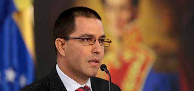 Venezuela / Chile – Ministro Arreaza lamenta que el canciller chileno avale ilegalidad