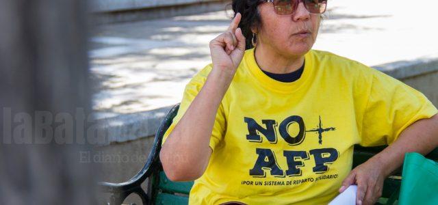 Chile :  No+AFP Maipú-Cerrillos: Si hiciéramos un plebiscito vinculante, tendrían que eliminarlas
