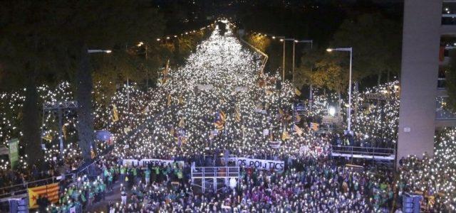 Catalunya – Más de un millón de manifestantes en Barcelona por la libertad de los presos políticos