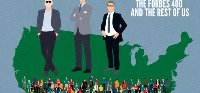 Tres multimillonarios son más ricos que la mitad de la población estadounidense
