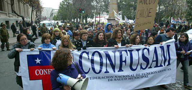 Chile – CONFUSAM convocó PARO 14 y 15 de noviembre exigiendo reajuste salarial decente