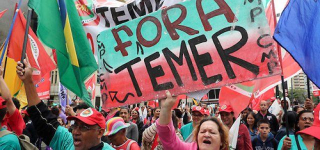"""Brasil -""""Las instituciones fueron asaltadas por el capital y vemos el fin del precario contrato social brasilero"""""""