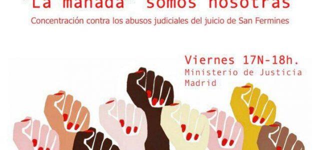 """Estado Español – Juicio a """"La Manada"""": ¡Basta ya de proteger a los culpables y criminalizar a las víctimas!"""