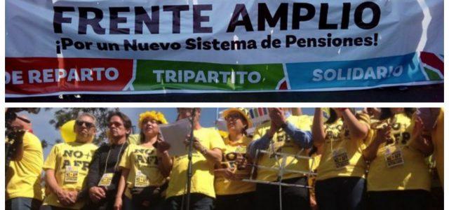 Chile – La lección de NO+AFP al Frente Amplio: La lucha política y social contra el neoliberalismo es intergeneracional