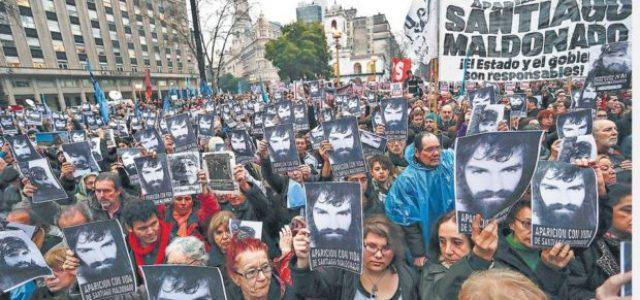 Argentina – Caso Maldonado:  que en la investigación intervengan expertos independientes