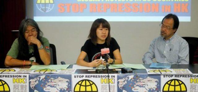 Solidaridad Internacional: ¡No a la represión en Hong Kong! ¡Libertad para los presos políticos!