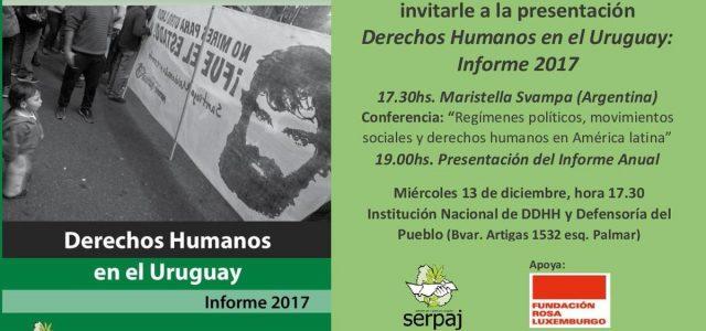Uruguay – Ahora y antes: violencia institucional e impunidad