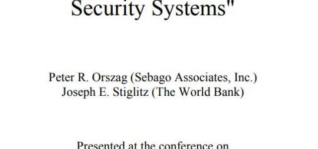 En 1994 el Banco Mundial promueve el sistema de AFP chileno