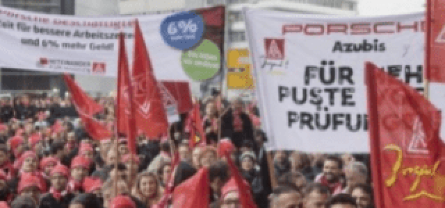 Alemania – Hacia una huelga indefinida en la industria