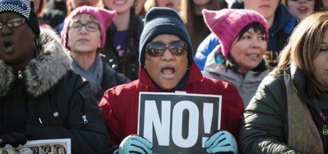 EEUU: La marcha de la mujeres vuelve a ocupar las calles