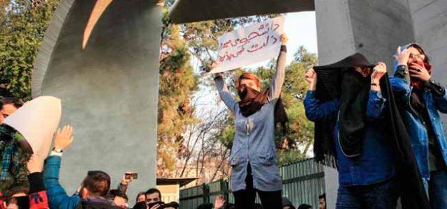 El movimiento obrero y la juventud desafían al régimen iraní
