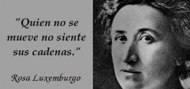 Un 15 de enero de 1919 es asesinada Rosa Luxemburg