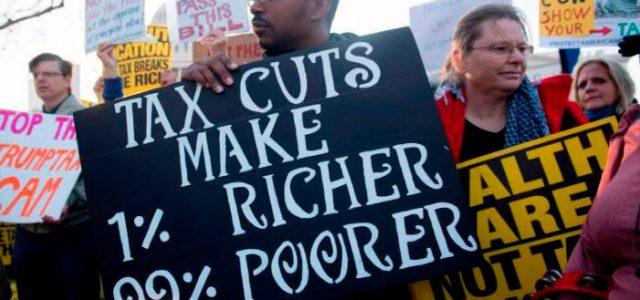 EEUU – Trump regala 1,5 billones a los ricos