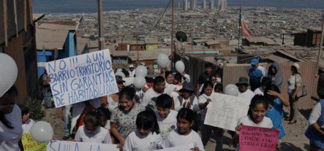 Pobladores del segundo campamento más grande de Chile acuden a Bachelet por desalojo