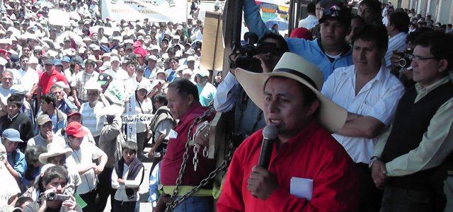 Peru – Entrevista a Daniel Gil:  Conga No Va