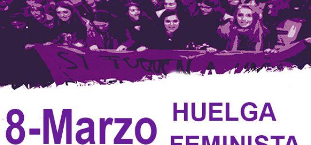 Estado Español – 8 de marzo, huelga feminista