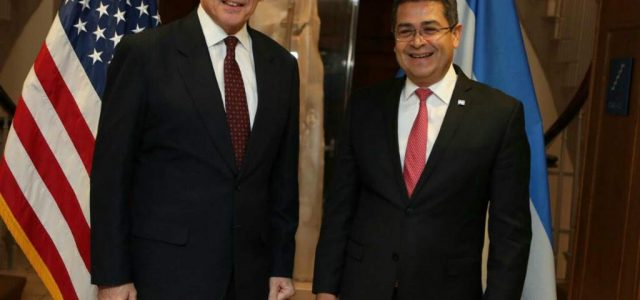 Honduras –Tras la fraudulenta presidencia de Juan Orlando Hernández