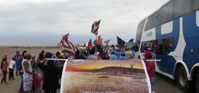 Chile – Comunidades atacameñas protestan por acuerdo de Corfo con SQM