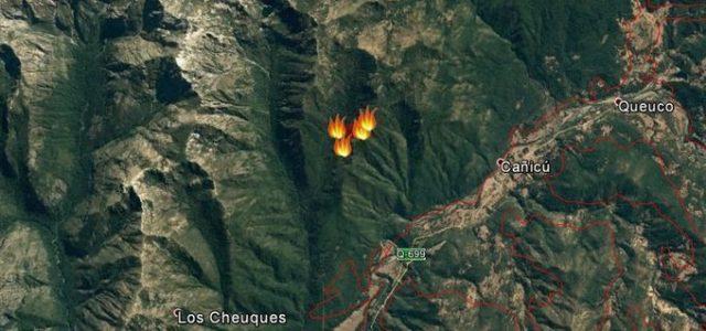 Chile / Wallmapu –Desde el viernes se propaga incendio en bosque nativo de Alto Bío Bío: no se estaría combatiendo