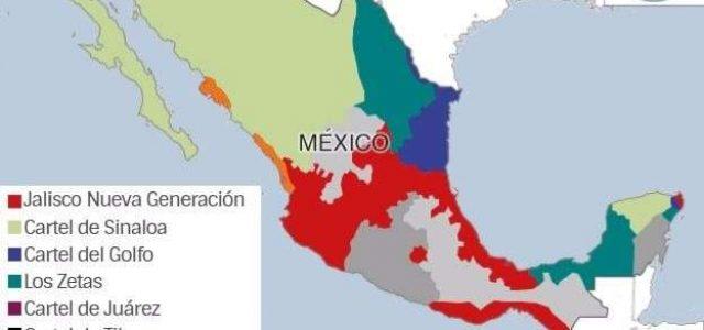 México – Narcotráfico, se recrudece la violencia