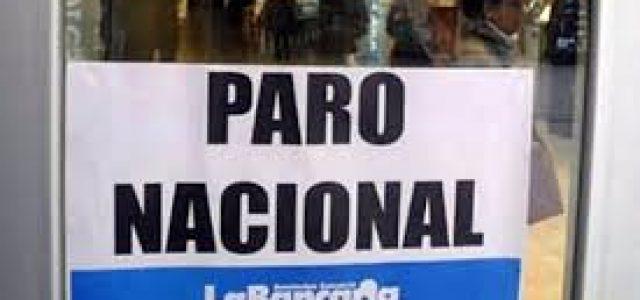 Argentina – El paro bancario acatado por 96% de los trabajadores