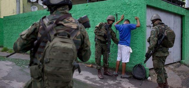 Brasil –Estado de excepción en Rio de Janeiro