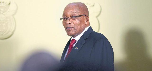 Sudafrica – Renunció Jacob Zuma