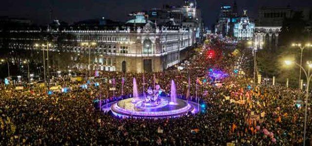 Estado Español – 8 Marzo · Millones en las calles contra la opresión patriarcal del capitalismo y la violencia machista