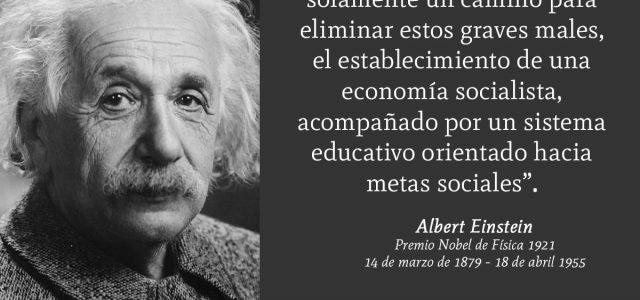Un día como hoy nacio Albert Einstein