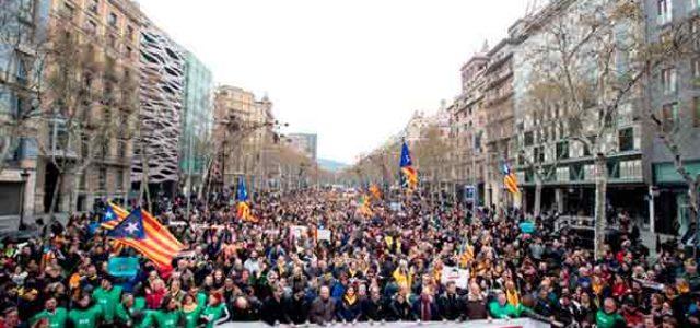 Estado Español – Golpe franquista contra el pueblo de Catalunya • ¡Huelga general ya!