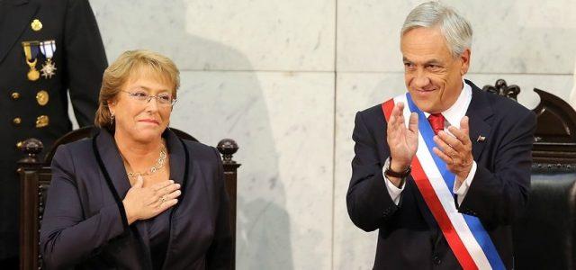 """Chile – Los """"súper sueldos"""" de más de $6 millones de los gobiernos de Piñera y Bachelet"""