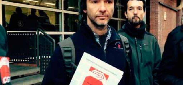 """Estado Español – ¡Retirada inmediata de los cargos contra el secretario general de CGT de Catalunya y los """"27 i Mès""""!"""