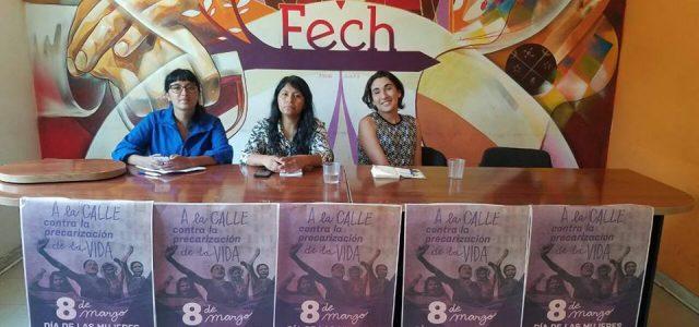 Día de la Mujer: Coordinadora 8 de Marzo convoca a protestas en todo el país