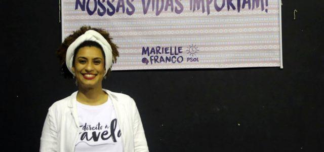 Brasil – Las balas que asesinaron a Mairelle Franco pertenecían a la Policía