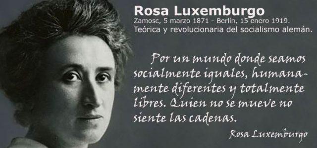 ROSA LUXEMBURGO EN CASA