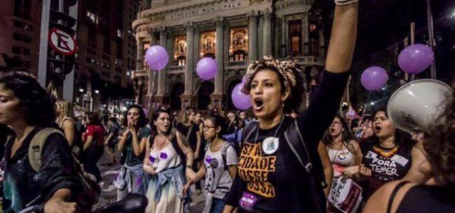 Brasil – Río de Janeiro.   Acribillan a Marielle Franco, concejala y activista que denunció la violencia policial