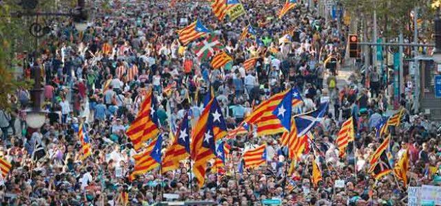 Catalunya • Para detener la ofensiva represiva del Estado y del PP ¡Hay que impulsar la movilización de masas!