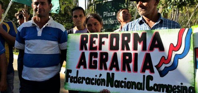 Paraguay –Trabajadores rurales:Votarán anulado en las elecciones porque entienden que ningún candidato representa sus reclamos