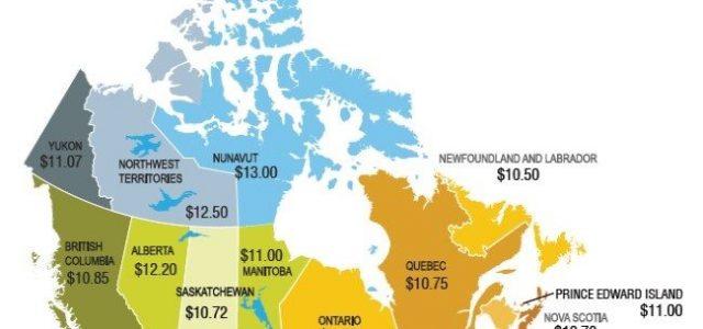 Canadá: Un sector privado que quiere salario mínimo al mínimo