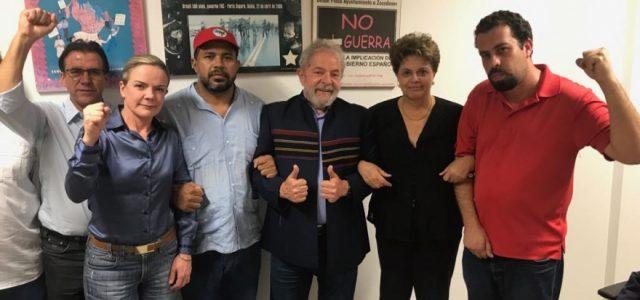 Partidos integrantes del Frente Amplio de Chile solidarizan con el pueblo brasileño ante intento de impedir candidatura presidencial de Lula